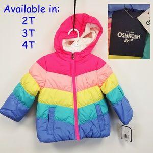 Toddler Girl OshKosh B'gosh Winter Jacket NWT